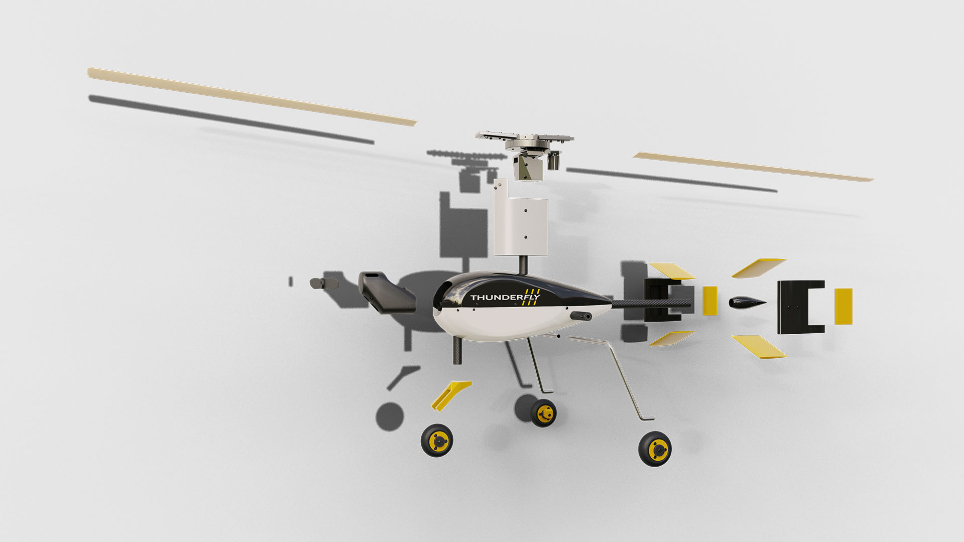 The Autogyro's modular design allows for various payloads and ground control stations
